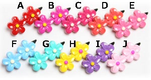 ☆Twin flower clip☆