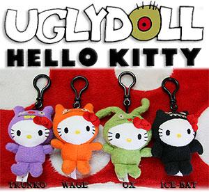 Ugly Dollハローキティクリップ